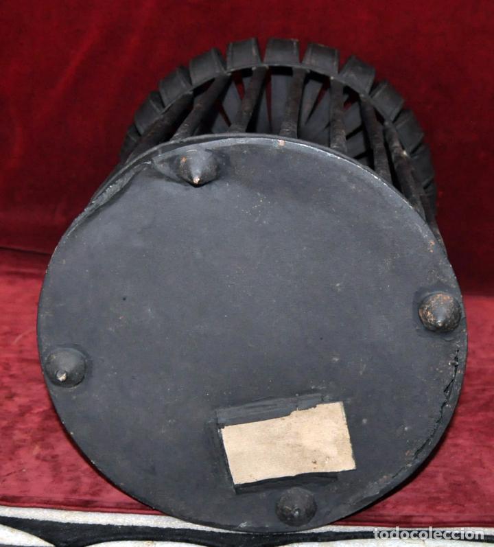 Antigüedades: ANTIGUA JAULA EN HIERRO DEL SIGLO XIX, PROCEDENTE DE URUGUAY (NARCISO CALBÓ Y MIRO) - Foto 9 - 64460455