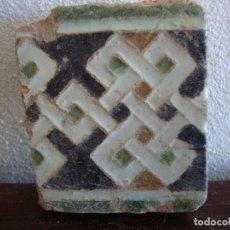 Antigüedades: AZULEJO SIGLO XV MUDEJAR DE TOLEDO. Lote 64506395