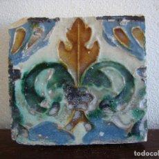 Antigüedades: AZULEJO DE TRIANA SIGLO XVI. Lote 64506639