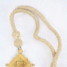 Antigüedades: MEDALLA DE COFRADÍA RELIGIOSA - ADORACIÓ NOCTURNA STM SAGRAMENT. DIOCESSIS BARCELONA - MEDIDAS 6 X 6. Lote 64585687