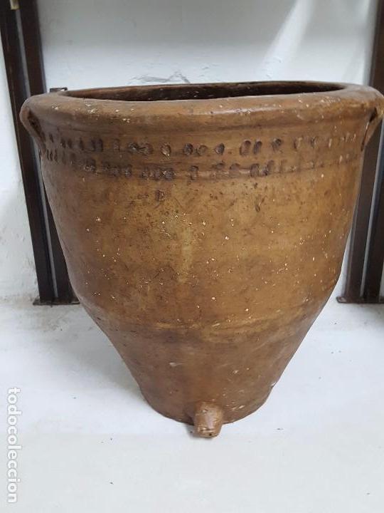 Antigüedades: Tinaja, cocio. - Foto 2 - 64710763