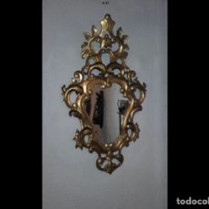 Antigüedades: CORNUCOPIA DE MADERA. Lote 64737625