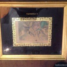 Antigüedades - Marco pan de oro siglo XIX - 64760925