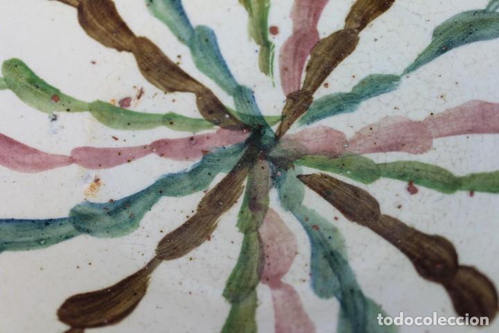Antigüedades: ANTIGUA FUENTE PLATO 27CM EN CERAMICA DE FAJALAUZA (GRANADA) CUENCO - Foto 4 - 64917475