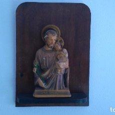 Antigüedades: IMAGEN DE SAN JOSÉ DE LOS AÑOS 30. Lote 69911247