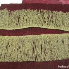 Antigüedades: FLECO ANTIGUO CANUTILLO ORO. Lote 64940463