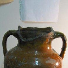 Antigüedades: CENTENARIA MEDIDA DE VINO MIRAVET TARRAGONA. Lote 64980811