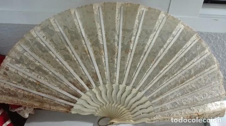 Antigüedades: PRECIOSO ABANICO DE FINALES DE 1800 PRINCIPIOS DE 1900 - Foto 2 - 64994159
