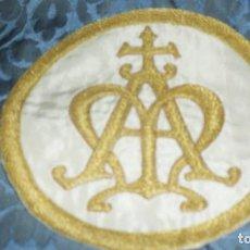 Antigüedades: PIEZA BORDADA A MANO. Lote 65033963