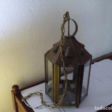 Antigüedades: LAMPARA FAROL ANTIGUA. Lote 65039115