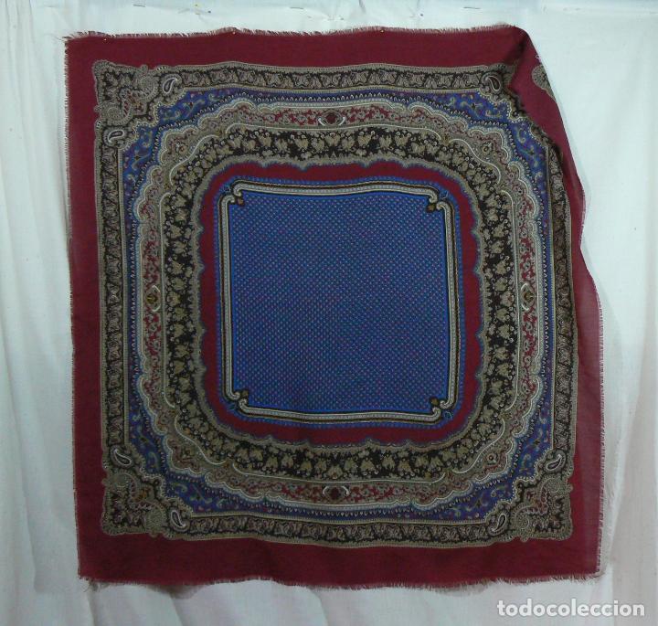 Antigüedades: MANTON MERINO - PAÑUELO - Foto 2 - 105012915