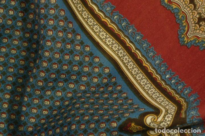 Antigüedades: MANTON MERINO - PAÑUELO - Foto 6 - 105012915