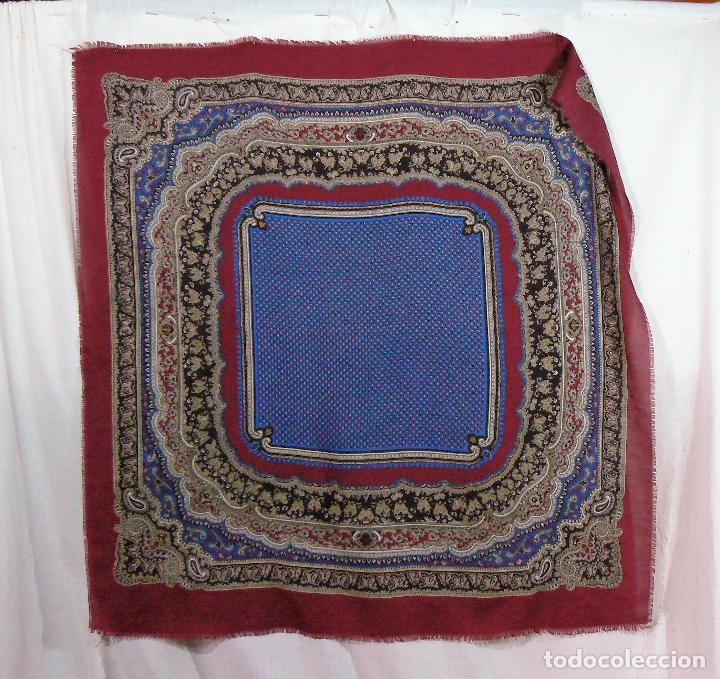 Antigüedades: MANTON MERINO - PAÑUELO - Foto 7 - 105012915