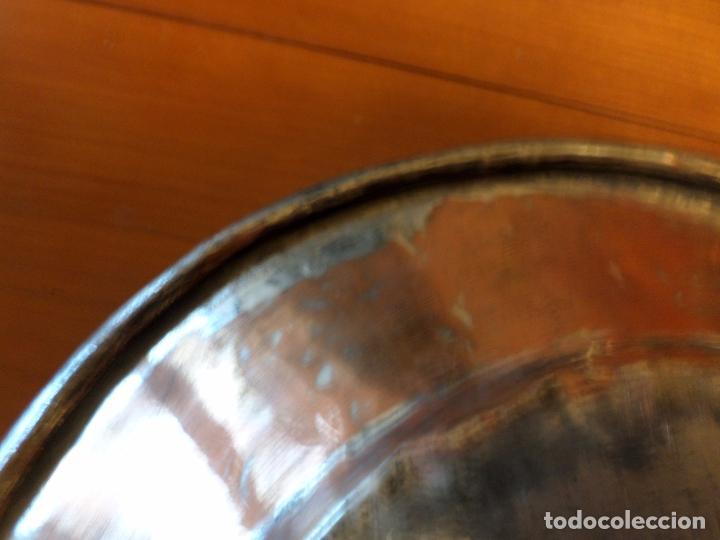 Antigüedades: PLATO COBRE Y ESTAÑO - Foto 8 - 65251995
