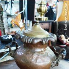 Antigüedades: ANTIGUO SAMOVAR EN COBRE. Lote 206471736