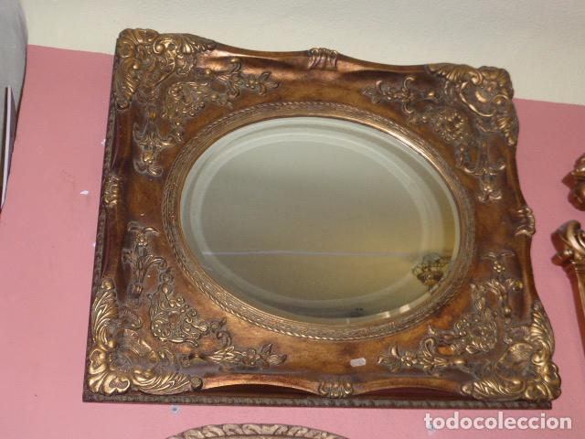 espejo de estilo barroco con marco en color oro - Comprar Espejos ...