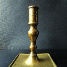 Antigüedades: PALMATORIA ANTIGUA DE BRONCE. Lote 65499970