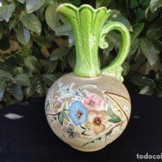 Antigüedades: ALFARERÍA LEVANTINA: JARRA DE NOVIA DE ALCORA XIX. Lote 65505434