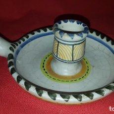 Antigüedades: CANDIL LA MENORA. TALAVERA. . Lote 65620126