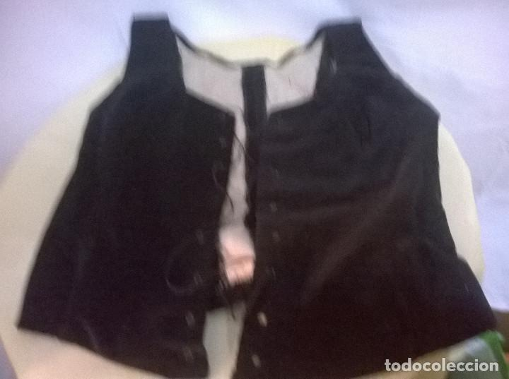CUATRO PIEZAS TRAJE CATALANA SIGLO XIX (Antigüedades - Moda y Complementos - Mujer)