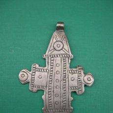 Antigüedades: ANTIGUA CRUZ COPTA DE ETIOPIA. Lote 65675822