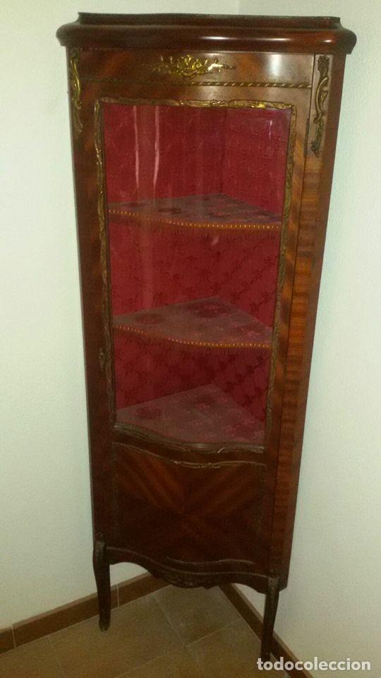 VITRINA ESTILO IMPERIO (Antigüedades - Muebles Antiguos - Vitrinas Antiguos)