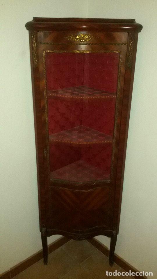Antigüedades: vitrina estilo imperio - Foto 2 - 65762794
