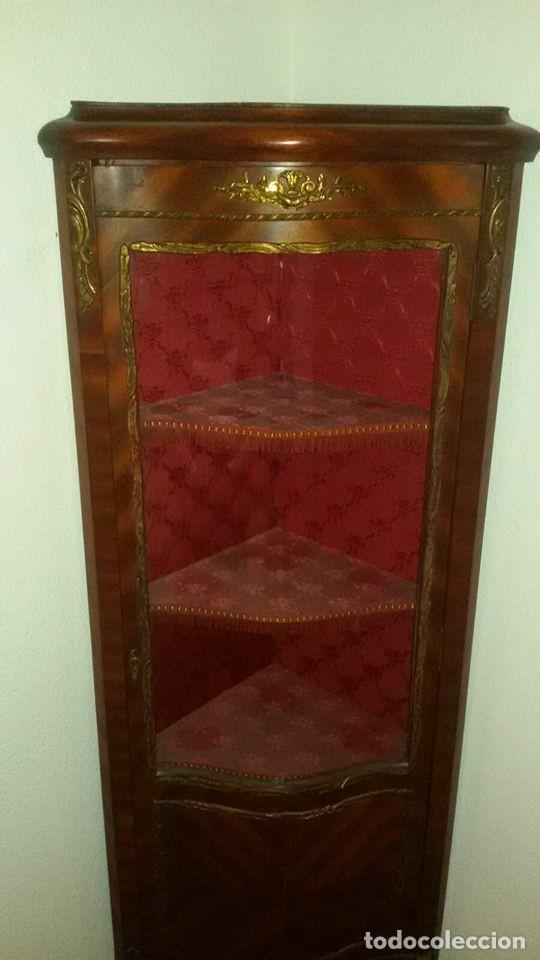 Antigüedades: vitrina estilo imperio - Foto 3 - 65762794