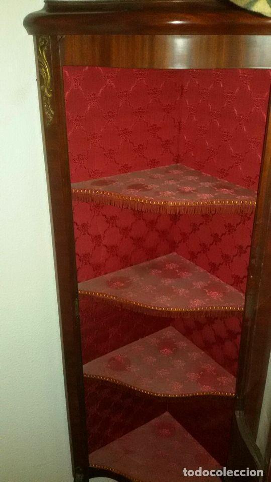Antigüedades: vitrina estilo imperio - Foto 4 - 65762794
