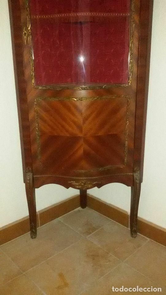 Antigüedades: vitrina estilo imperio - Foto 5 - 65762794