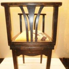 Antigüedades: BANQUETA THONET CON BIDET DE PRINCIPIOS DE SIGLO XX. Lote 65789354