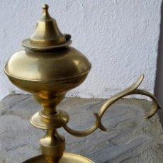 Antigüedades: QUINQUE DE BRONCE.. Lote 65794442
