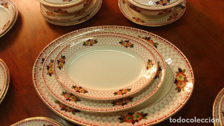 Antigüedades: Vajilla Inglesa loza Burslem Circa 1880. Referencia P-223/B-15226 - Foto 4 - 65823346