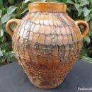 Antigüedades: ALFARERÍA ARAGONESA: OLLA DE NAVAL (HUESCA). Lote 65829250