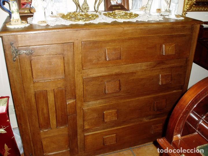 Muebles r sticos de roble c moda antigua comprar - Muebles de roble macizo ...