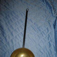 Antigüedades: CAZO DE METAL. Lote 65880142