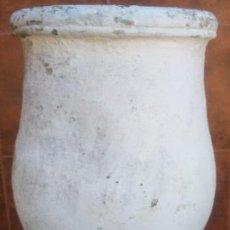 Antigüedades: TINAJA ALFAR DE LUCENA S. XIX CON BOCA ASIMÉTRICA. 69 CMS DE ALTURA (BUEN TAMAÑO).. Lote 65961234
