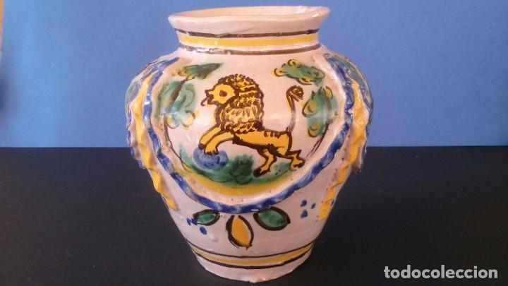ORZA DE CERÁMICA DE TRIANA (?) (Antigüedades - Porcelanas y Cerámicas - Triana)