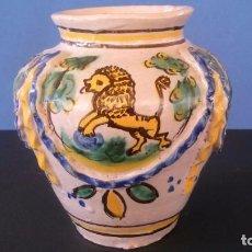 Antigüedades: ORZA DE CERÁMICA DE TRIANA (?) . Lote 65965530
