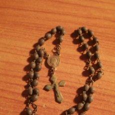 Antigüedades: ANTIGUO ROSARIO RELIGIOSO. Lote 65977190
