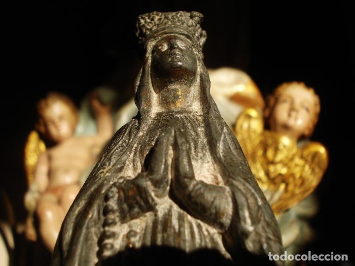 PLATO LIMOSNERO ESCUELA FRANCESA FINALES DEL SXIX (Antigüedades - Religiosas - Orfebrería Antigua)