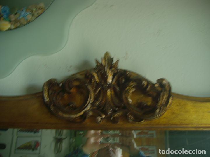Antigüedades: GRAN ESPEJO MURAL ESTILO CLASICO 2 METROS - Foto 3 - 53777899