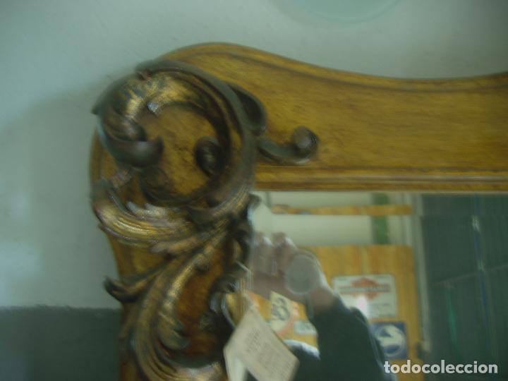 Antigüedades: GRAN ESPEJO MURAL ESTILO CLASICO 2 METROS - Foto 4 - 53777899