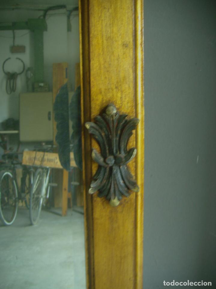 Antigüedades: GRAN ESPEJO MURAL ESTILO CLASICO 2 METROS - Foto 5 - 53777899