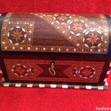 Antigüedades: CAJA DE TARACEA DEL SIGLO XIX. Lote 66085723