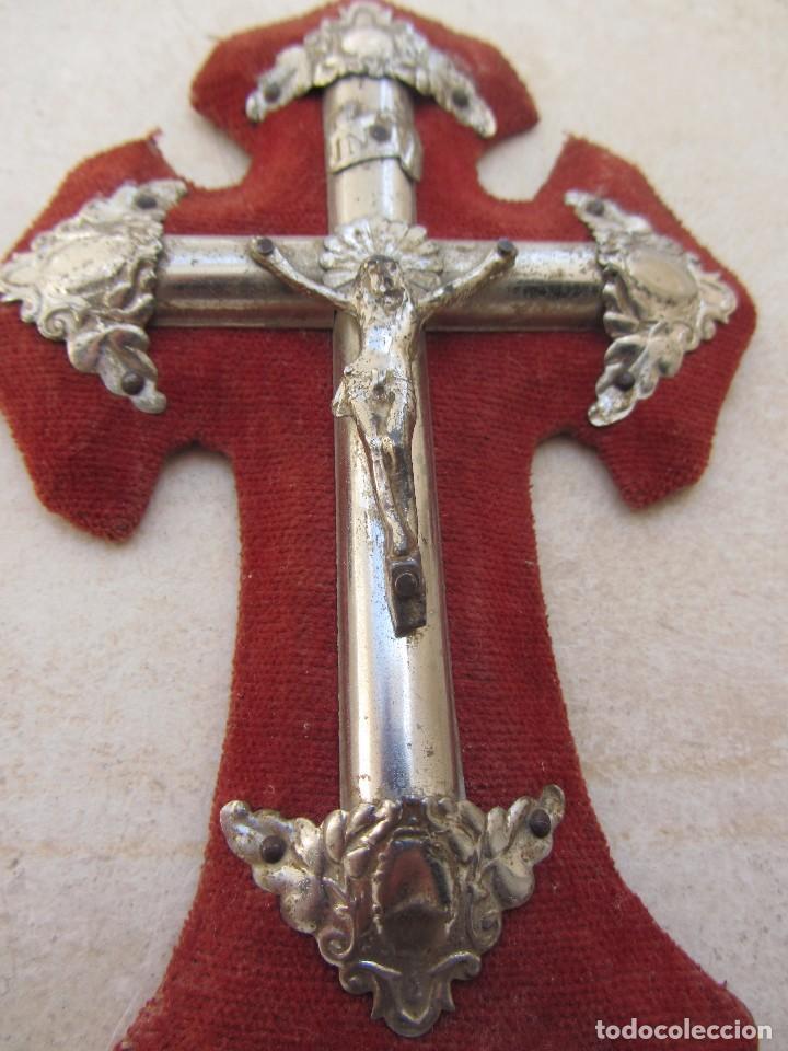 Antigüedades: Pila Benditera Cristo - Foto 2 - 66104094