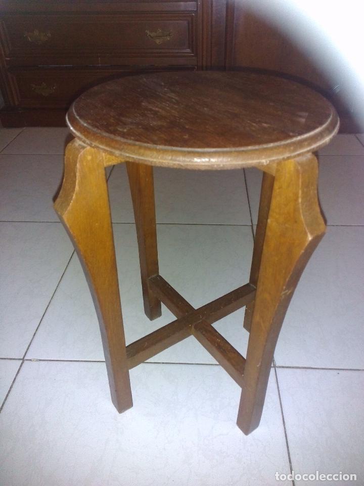 Antigüedades: Antiguo velador madera - Foto 2 - 184006551