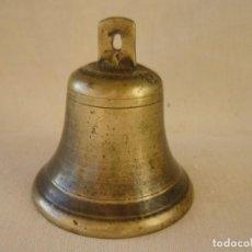 Antigüedades: CAMPANA BRONCE - SIN BADAJO. Lote 66129210