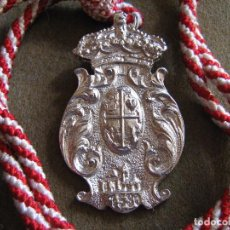 Antigüedades: ZALAMEA LA REAL - MEDALLA DE LA HERMANDAD DE PENITENCIA - SEMANA SANTA. Lote 66141826
