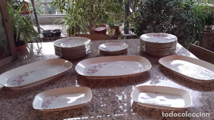 ANTIGUA VAJILLA SELLADA SANTA CLARA , PRECIOSA (Antigüedades - Porcelanas y Cerámicas - Santa Clara)